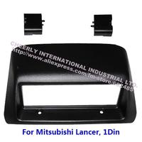 Single Din Car Audio Frame,DVD Kits, Fascia, Dash Kit, Installation Panel,Front Bezel, Facia Cover for Mitsubishi Lancer, 1 Din