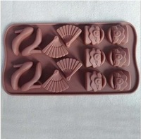 Wholesale Girl Shoes Bags Chocolate Cookie Candy Pop Baking Mold Cutter Fondant Cake Tools
