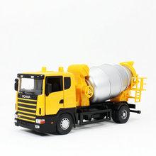 on Concrete Transport Truck
