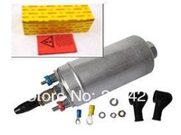 Hot sale & high flow 330LPH SH external fuel pumps 0580254044 0580 254 044 for tuning cars with yellow boxes