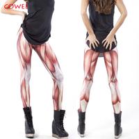 COWEE Free Shipping KZ-006 2014 Leggings for Women Muscles Leggings.Black MIlk Leggings Plus Size pants Galaxy