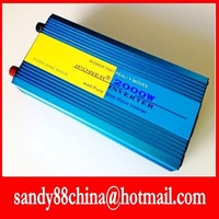 HOT SALE!! 2000W  Inverter with charger Pure Sine Wave inverter ,i   12V to 220V  50HZ  free shipping