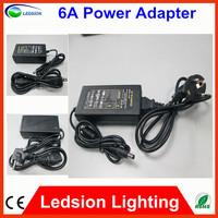 2pcs US/EU/AU Standard 12V 6A AC/DC Power Supply Charger Transformer Adapter for 5050 LED RGB Strip Light B2B quality CE ROHS