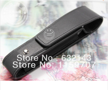 Free shipping leather pen bag delivery of high quality ,2541 Sheath of a pen Pencil Case 3pcs(China (Mainland))