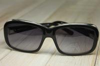 Spr19l-a zya-3m1 plate sunglasses black transparent sunglasses
