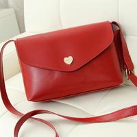 wholesale 2014 women's messenger bag fashion mini shoulder crossbody bags for women black blue brown red beige purple colors