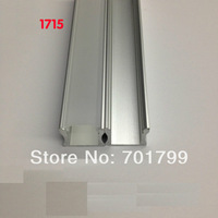 RA-1715;1M long LED aluminum profile(anodized silver color) with PC cover;for flexibe or hard LED strips