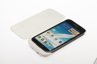 note2 power case 3600mAh External Backup Battery Charger Case for Samsung Galaxy Note II n7100 phone case- Black  white