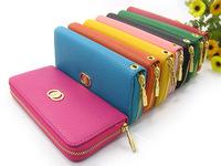 L-108 Miss Han Ban Ms. single pull purse wallet lady wallet pu multi-card wallet Ms. Long