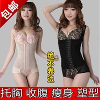 New 2015 Summer thin breathable body shaper bodysuit women slimming clothes waist slimming underwear waist training corsets
