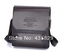 Hot sale:2014 man  shoulder bag messenger handbag male commercial pu leather-bag casual male briefcase