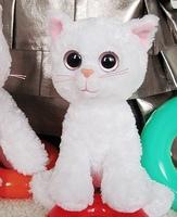 Ty cat plush toy cat doll new year gift girls child