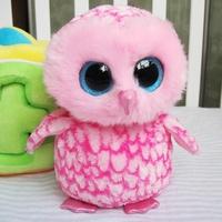 Ty big eyes owl Large cute plush doll toy Christmas child gift