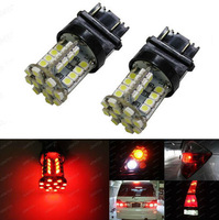 Super 2PCS  Brilliant Red 40-SMD 3156 3157 LED Bulbs For Turn Signal, Brake, Tail Lights Car Accessory High Power FREE SHIPPING