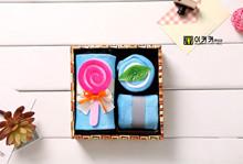 lollipop towel promotion