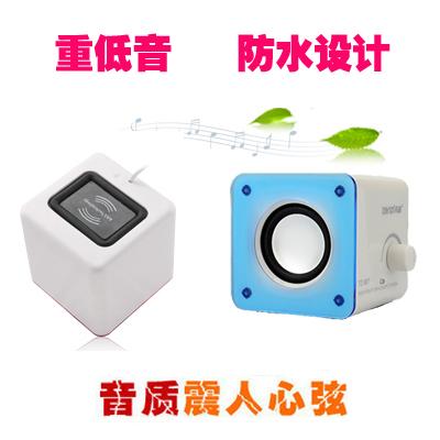 Usb audio mp3 mini speaker portable laptop speaker desktop speaker small audio(China (Mainland))