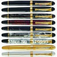 9Pcs JINHAO 450 Executive M Bib Fountain Pen Set Free Shipping