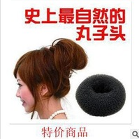 Korean Hair Accessories Meatball Head Hair Donut Tool