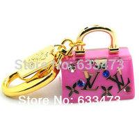 wholesale Crystal handbag keychain Jewelry USB 2.0 Flash Memory Pen Drive 4G 8G fashion Stick pen key  16G 32G u disk