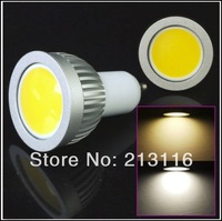 Free Shipping 5pcs/lot  6W GU10 E27 E14 B22 E26 LED COB Spot Light Dimmable Bulb Lamp Celing Down Flood Light High Power