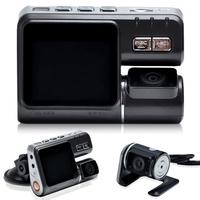 I1000 HD 1080P Dual Lens Dashboard Car vehicle Camera Video Recorder DVR CAM G-sensor