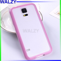 Hybrid Double Color Frosted TPU + PC Cover Case For Samsung Galaxy S5 I9600