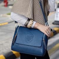 Women bag Korean version of the 2014 New England fashion handbags embossed shoulder bag retro wave hand woman bags