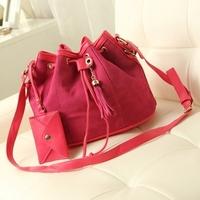New handbag trends scrub fringed bucket bag shoulder diagonal fashion handbags