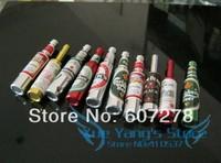 HOT SALE Fashion Small Wine Bottle shape Metal Pipe Smoking Pipe Magic 30pcs/lot Free shipping