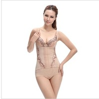Thin seamless fat burning abdomen butt-lifting drawing corset slim waist one piece postpartum weight clothing