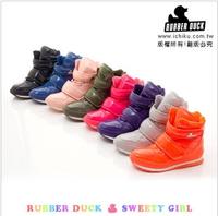 Rubberduck rubber duck snow boots jogging shoes four seasons slip-resistant waterproof