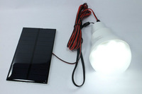 Outdoor Solar LED Camping Lamp Super Bright  Energy Saving Light Bulb Compact Solar Power System