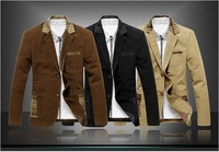 The new free shipping  small suit man spring and autumn period and the long face  wear coats  suit jacket   jeans men