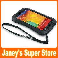 Original LOVE MEI Powerful Small Waist Waterproof Dirtproof Shockproof Fullbody Protector Case For Samsung Galaxy Note 3 N9000
