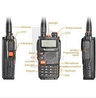 Free shipping QuanSheng TG-K4AT(UV) dual band dual watch uhf vhf dual band handheld two way radio quansheng TG-K4AT