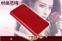 Wallet Women 2014 spring new Korean version of the influx of ladies patent leather wallet embossed wallet women wallet woman