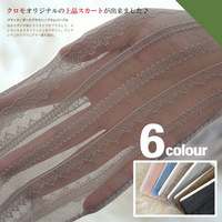Sexy Vertical stripe lace transparent thin stockings multi-colored panty hosem women's girls