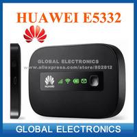 Huawei E5332 HSPA 21.6Mbps sim card portable 3G WIFI modem router TV box freeshipping