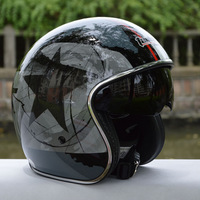 free shipping casco capacetes vintage vetro man women's Tanked Racing Open Face helmet Jet Helmet Chopper motorcycle helmet