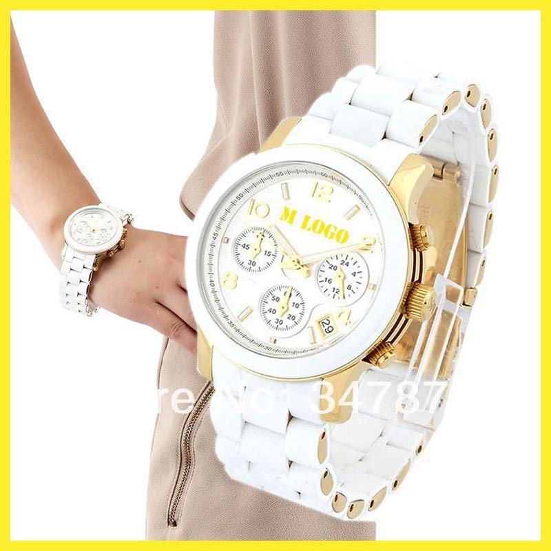 Fashion 1:1 M5316 Famous Brand Dress Silicon Rubber Band Analog Quartz Gift Wrist Watch for Men Women Ladies /w Original Logo(China (Mainland))