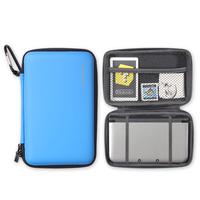 Blackhorns EVA Hard Bag Protective Hard Shell for 3DSL / 3DSXL - Retail Packaging - Blue