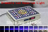 Hot Sale Newest Auto Sunrise Sunset Dimmable Led Aquarium Light 72x3W For Coral Reef Aquariums Tank Lighting