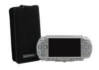Blackhorns Slim & Lite Ultra Cool Kit Suede Protective Case for PSP 2000 - Retail Packaging - Black