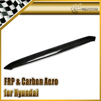 FOR Hyundai Veloster Carbon Fiber Front Bumper Bonnet Hood Lip Gamma Fit Turbo TCi GDi MPi