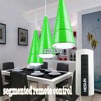 High luminance segmented remote control LED 36W dining room lights Taiwan Epistar chip AC85-265V line pendant lights