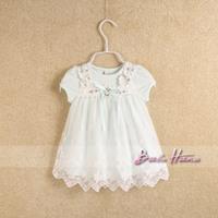 Idea2014 summer child baby girls clothing princess short-sleeve dress one-piece dress doll dress