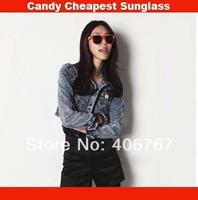 Wholesale Free Shipping Fashion Hot Sale Sunglasses Brand Women Sun Glasses Retro Sunglass 500PCS/lot