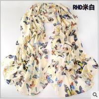 Min Order $15(mixed order) women  scarf fashion style silk scarf polka velvet scarf chiffon Bohemia Scarf free shipping