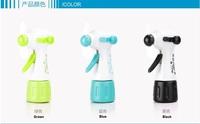 Newest style Energy Saving Handheld Mist Spray Fan Summer Cool Mini Fan 10pcs/lot