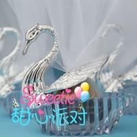 Wedding favors/Wedding Decoration-Gorgous Wedding Swan favor box- wholesale & retail